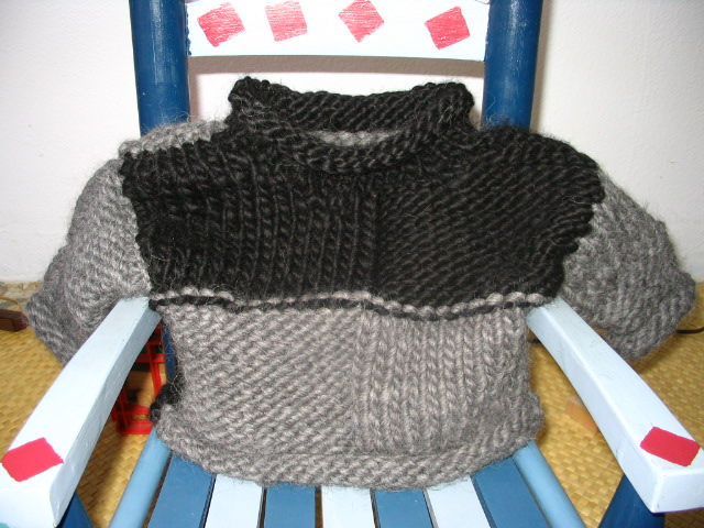 Finished Sweater